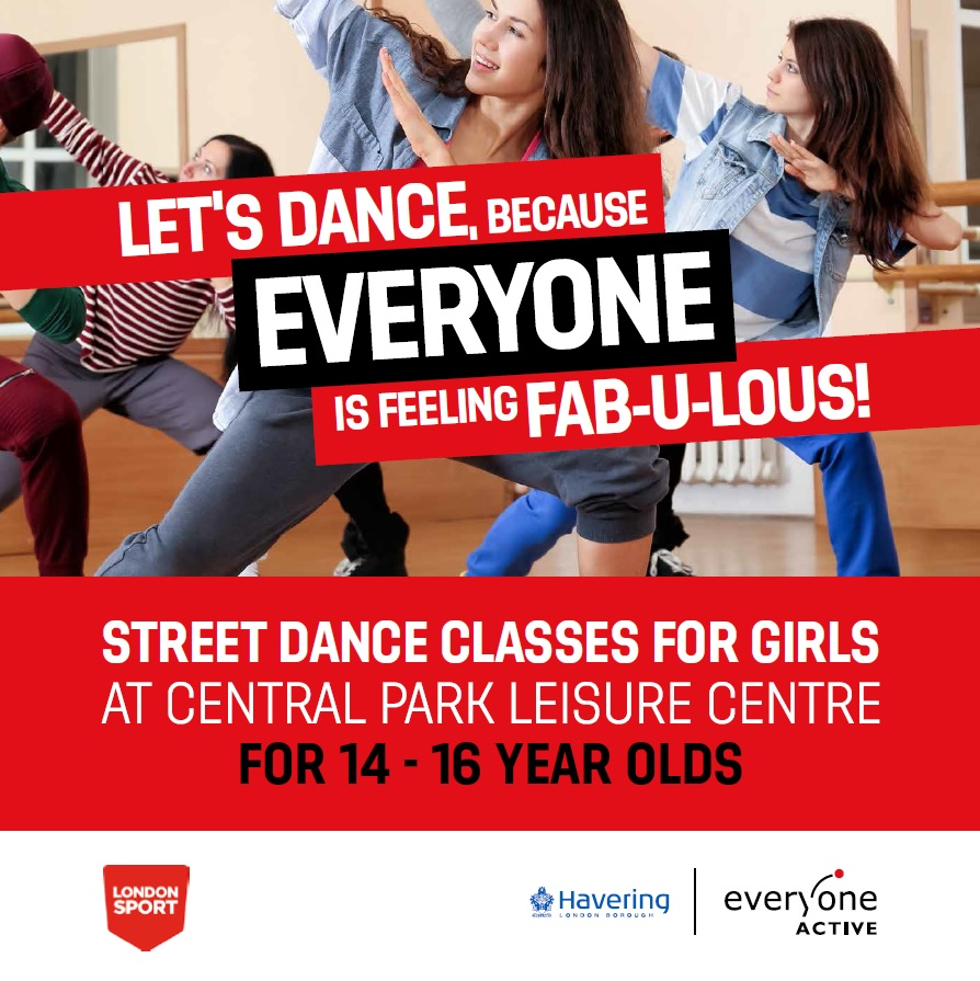 Girls Street Dance